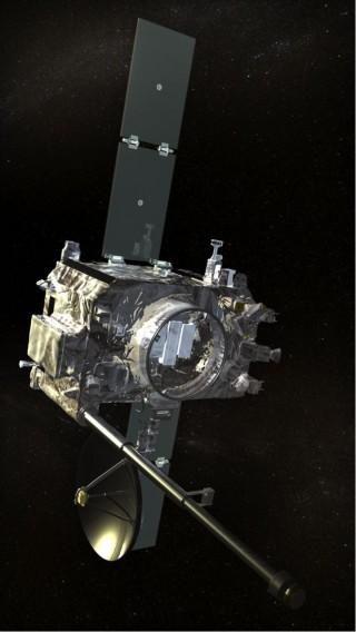 태양탐사를 목적으로 2006년 미국 플로리다주에서 발사된 스테레오(STEREO) 탐사선. - NASA/STEREO 제공